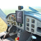 Samolot 3Xtrim 450 – wnętrze