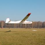 Lot szybowcem – lądowanie