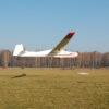 Lot szybowcem - lądowanie